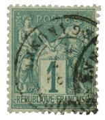 France 1876 - YT 61 - Oblitéré