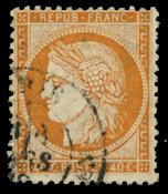 France 1870 - YT 38 - Cancelled