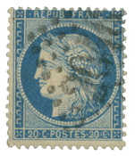 France 1870 - YT 37 - Cancelled