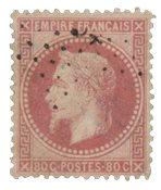 France 1867 - YT 32 - Oblitéré