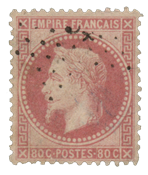 France 1867 - YT 32 - Cancelled