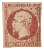 France 1854 - YT 17A - Oblitéré