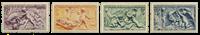 Frankrig 1949 - YT 859/62 - Ubrugt