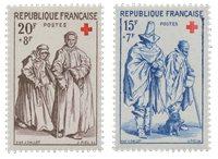 Frankrig 1957 - YT 1140/41 - Postfrisk