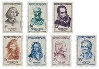 Frankrig 1957 - YT 1132/38 - Postfrisk