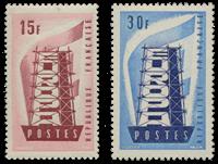Frankrig 1956 - Postfrisk - YT 1076-77