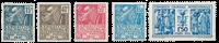 Frankrig 1930 - YT 270-74 - Ubrugt