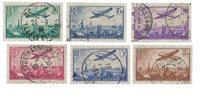 France 1936 - YT A8-13 - Oblitéré