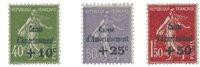 France 1931 - YT 275-77 - Neuf avec charnière