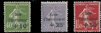 Frankrig 1931 - YT 275-77 - Ubrugt