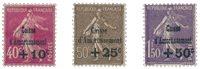 France 1930 - YT 266-68 - Neuf avec charnière