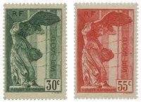 Frankrig 1937 - YT 354-55 - Postfrisk