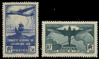 Frankrig 1936 - YT 320-21 - Ubrugt
