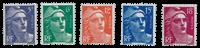 France - YT 883-87 - Neuf