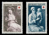 France 1953 - YT 966-67 - Neuf