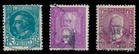 Frankrig 1933 - YT 291-93 - Stemplet