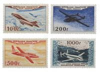 France 1954 - YT PA30-33 - Poste Aérienne  neuf