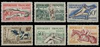 Frankrig 1953 - YT 960-65 - Postfrisk