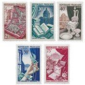 France 1954 - YT 970-74 - Neuf
