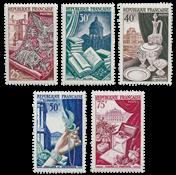 Frankrig 1954 - Postfrisk - YT 970-74