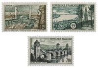 Frankrig 1957 - YT 1117-19 - Postfrisk