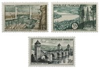 France 1957 - YT 1117-19 - Neuf
