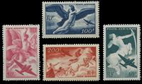 France 1946 - YT PA16-19 - Poste Ariénne neuf