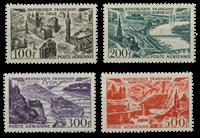 France 1949 - YT PA24-27 - Poste Aérienne  neuf