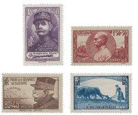 France 1940 - YT 454-57 - Neuf