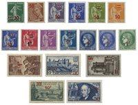 France 1940 - YT 476-93 - Neuf