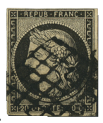 France 1849 - YT 3 - Oblitéré