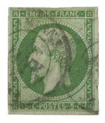France 1854 - YT 12 - Oblitéré