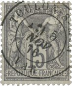 France 1876 - YT 66 - Oblitéré