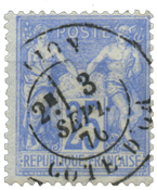 France 1876 - YT 68 - Cancelled