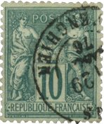 France 1876 - YT 76 - Oblitéré