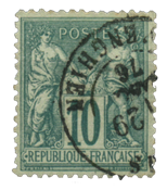 France 1876 - YT 76 - Cancelled - Unused