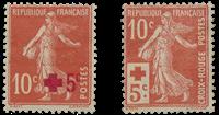 Frankrig 1914 - YT 146/147 - Ubrugt