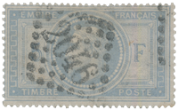 France 1868 - YT 33a - Oblitéré