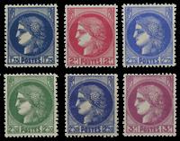 France - YT 372-376 - Neuf