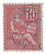 France 1900 - YT 112 - Cancelled
