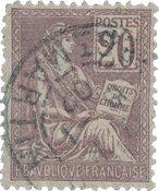 France 1900 - YT 113 - Oblitéré
