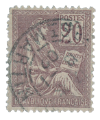 France 1900 - YT 113 - Cancelled