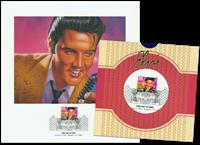 Elvis førstedagskuvert stemp.& repro.(L41)