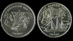 Nansen & Eriksson 2 mønter