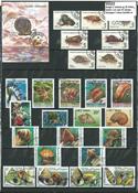 Escargots 2 blocs-feuillets et 25 timbres