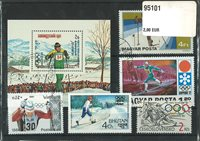 Ski Cross Country 3 BF et 30 timbres