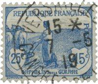 Frankrig 1917 - YT 151 - Ubrugt
