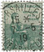 France 1917 - YT 149 - Oblitéré