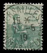 Frankrig 1917 - YT 149 - Stemplet