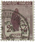 Frankrig 1917 - YT 148 - Stemplet